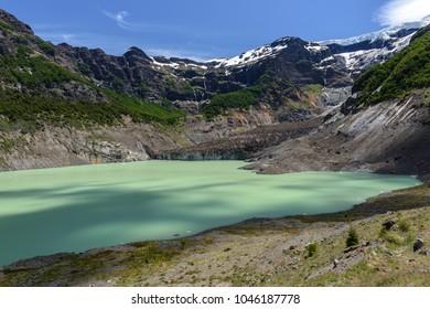 Black glacier, Nahuel Huapi National Park, Argentina
