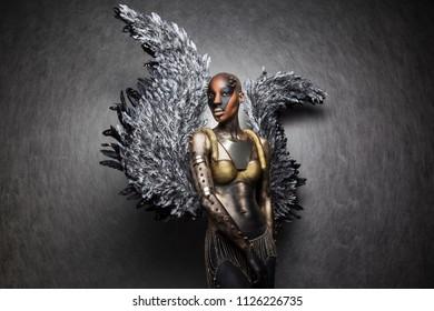 Black goddess Athena