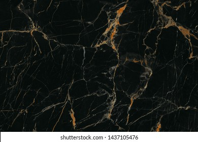 Black golden marble stone texture