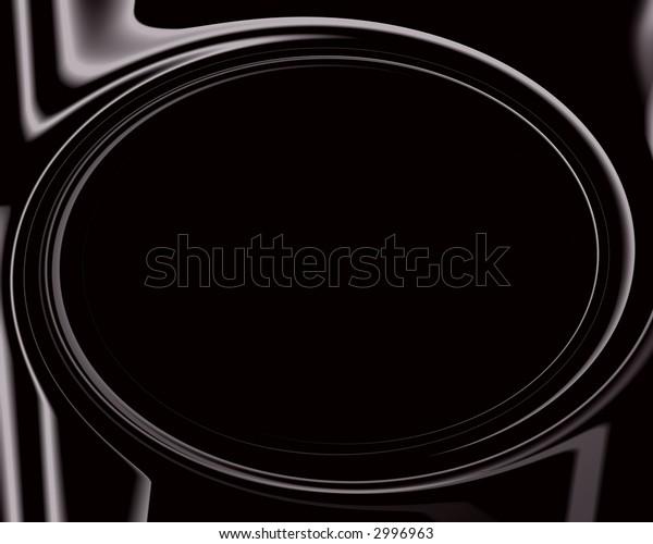 Black goth plastic background