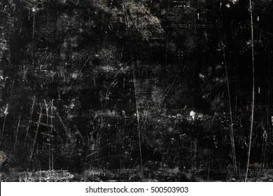 Black grange texture of concrete wall.