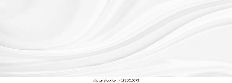 Black gray satin dark fabric texture luxurious shiny that is abstract silk cloth background with patterns soft waves blur beautiful. - Shutterstock ID 1923010073