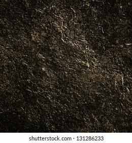black ground texture or background