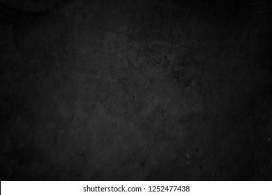 Black grunge background. Chalkboard texture