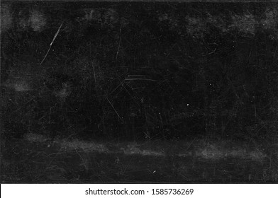 Black grunge background. Distressed texture. Chalkboard.Rustic style. Film grain surface
