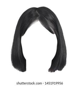 Black Wigs Images Stock Photos Vectors Shutterstock