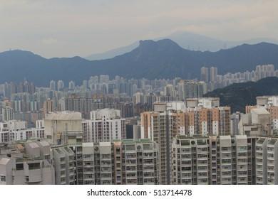 black hill view of hong kong 2016
