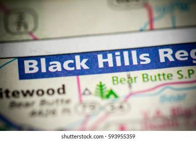 Black Hills. South Dakota. USA