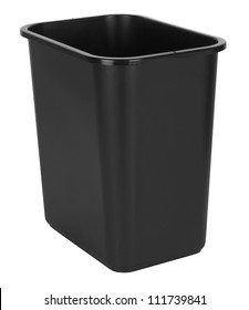 Black Indoor Waste Bin