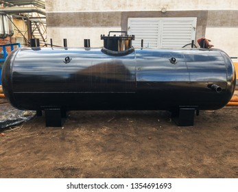Black Industrial heat exchanger, tube shell and tube high efficiency. For any purprose use.