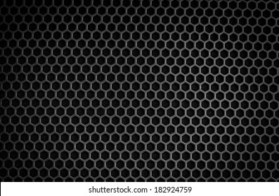 Black iron speaker grid texture