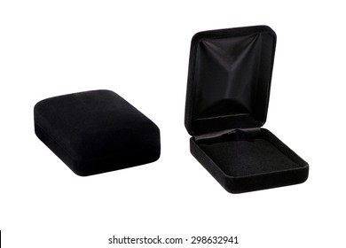 black jewelry box.The eternal collection