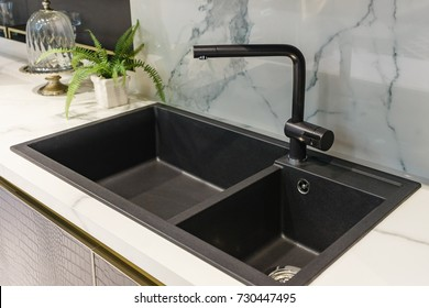 Kitchen Sink Images Stock Photos Vectors Shutterstock