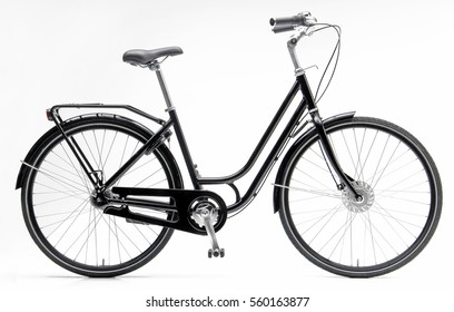 Black Lady City Bike