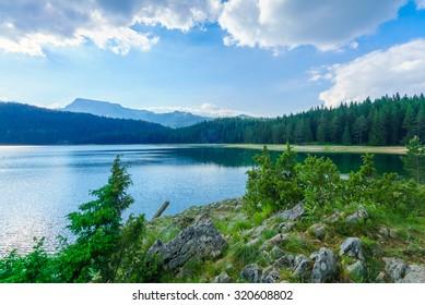 The Black Lake (Crno jezero) in Durmitor National Park, Montenegro