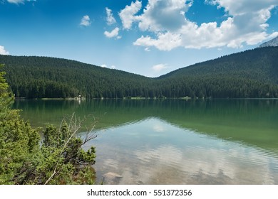 Black Lake in Durmitor national park, Montenegro