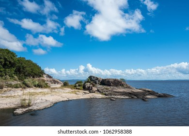 Black Lake (Laguna de Difuntos ore Laguna Negra) is the largest water body in the Rocha Department of Uruguay