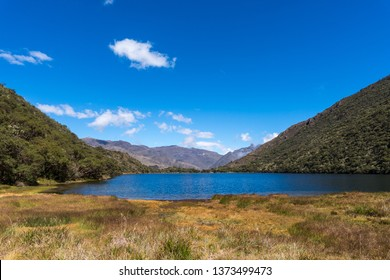 The Black Lake, located in Merida state, Venezuela