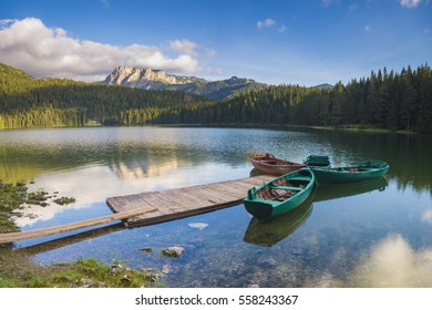 Black Lake in the national park Durmitor in Montenegro