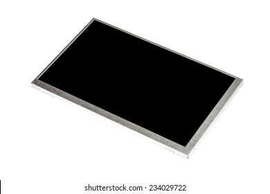Black LCD Display on white background