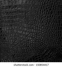 Black Leather background texture