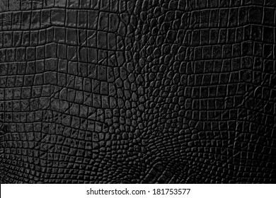 Black Leather background and texture