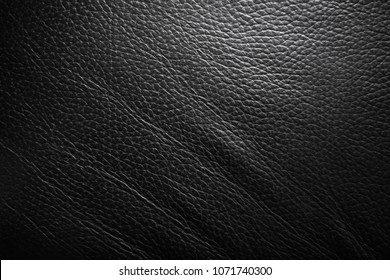 Black leather texture backbround