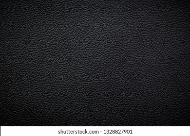 Black leather texture or background.