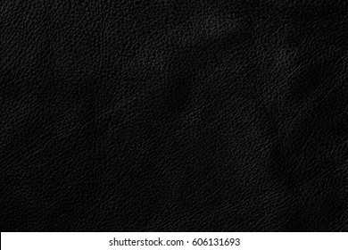 Black leather texture can be used as background.