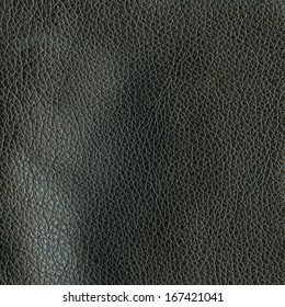 black leather texture closeup