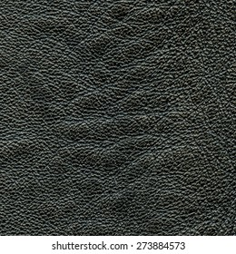 black leather texture closeup. Useful as background