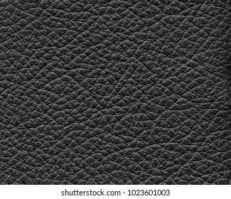 black leather texture closeup.Useful as background