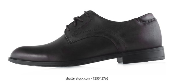 73a557863 Black male shoes made of leather