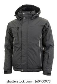 Black male winter jacket