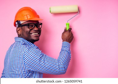 Black Man Painting House Images, Stock Photos & Vectors