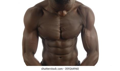 Black man naked,