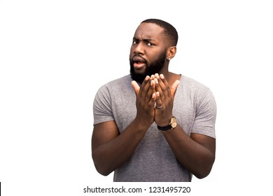 The black man is perplexed at being insulted; he is outraged and unhappy about racial discrimination. He is aggressive and ready to clash and swear. He is dangerous and negative. Cruelty and violence