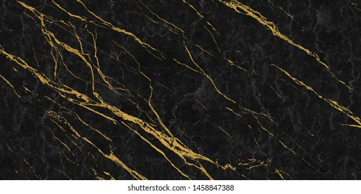 black marble with golden veins ,Black marbel natural pattern for background, abstract black white and gold, black and yellow marble, , hi gloss marble stone texture for digital wall tiles design.