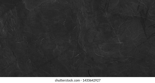 Black marble natural pattern for background, abstract natural black marbel