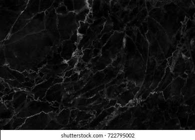 Black marble stone texture abstract background pattern
