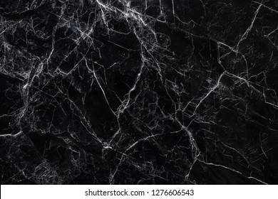 Black marble stone Texture Nature abstract background