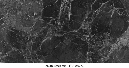 Black marble texture background, abstract marble texture (natural patterns) for design.
