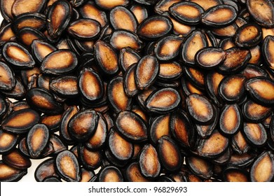 Black Melon Seeds background