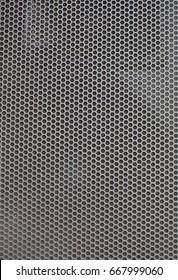 Black Mesh speaker pattern