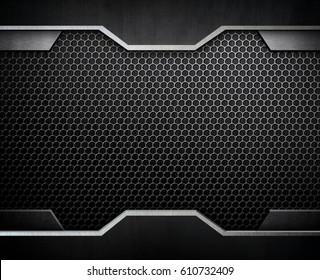 black metal design background