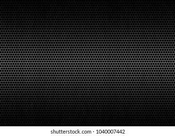 Black metal steel background