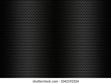 Black metal texture or black steel background