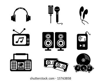 Black Music JPEG (Please see my portfolio for vector version)