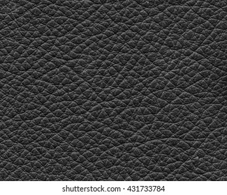 black natural leather texture, useful as background
