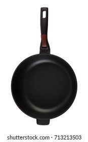 Black non-stick frying pan